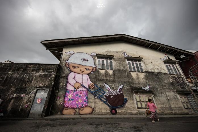 Street Art in Phuket 2016