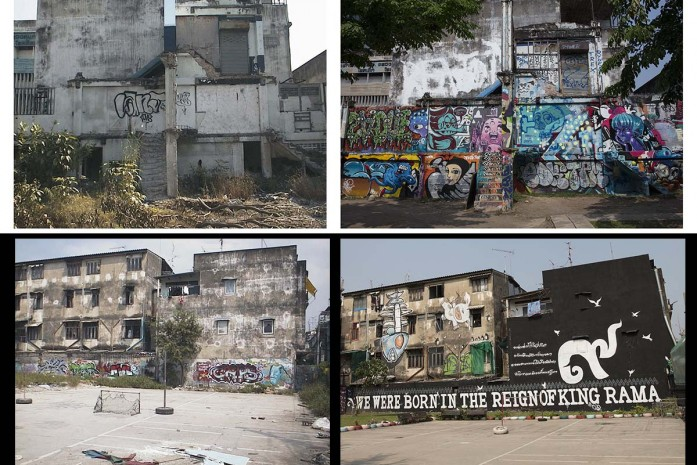 Then & Now Graffiti Park Bangkok : จากวันนั้น ถึงวันนี้