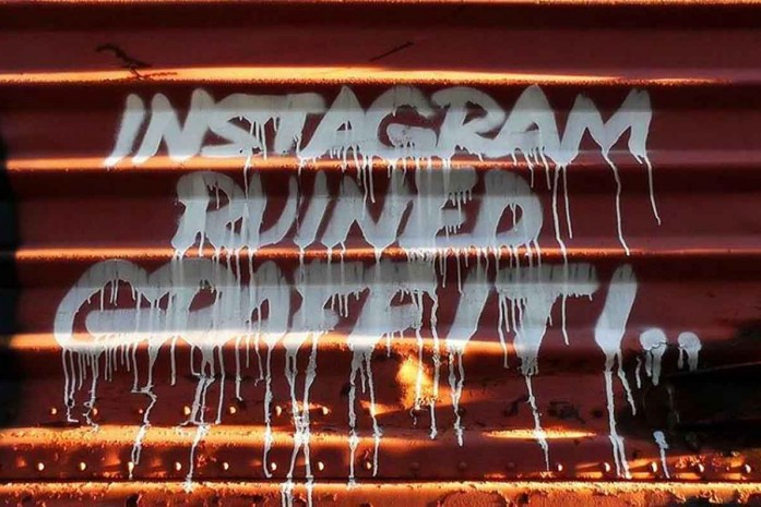 INSTAGRAM RUINING GRAFFITI ?