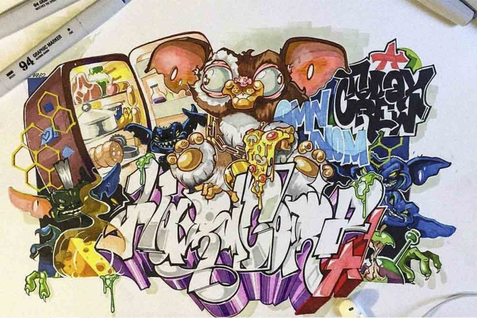 GRAFFITI SKETCHES CONTEST 2017, SPACE