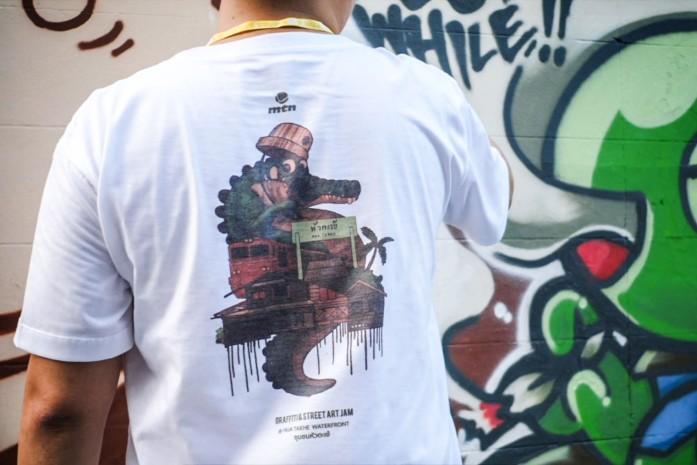 MTN Thailand Graffiti Jam EP II at Hua Takhe.