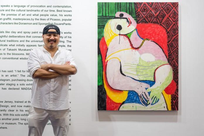 บทสัมภาษณ์และภาพบรรยากาศงาน Solo Exhibition ของ Madsaki