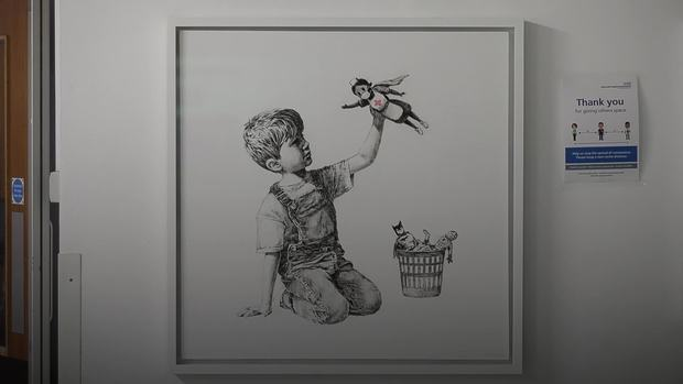 """Game Changer"" by Banksy"
